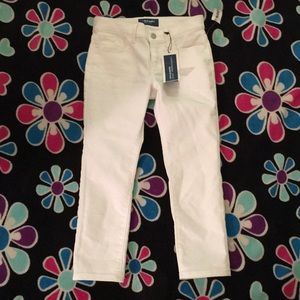 White Old navy jeans for girls